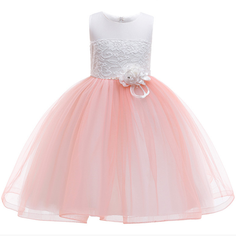 Princess party wedding   dress   pageant   girl     dress   baby evening elegant birthday   girls     dress   first communion costume ladies   dress
