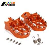 CNC Foot Pegs Motorcycle Footpeg For KTM 65SX 85SX 125SX 250 450 SX F 250SX EXC EXC F XC XC F XC W XCF W FREERIDE SUPER ENDURO