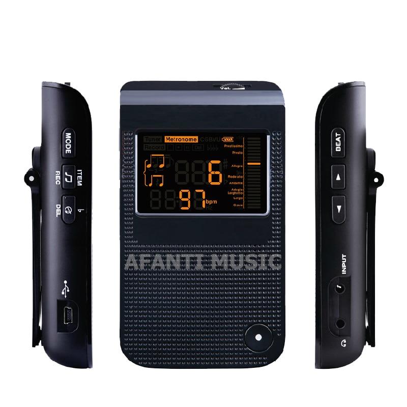 Afanti Music Guitar / Bass Tuner (TUN-113) afanti super bilateral bass head tuner ast 156