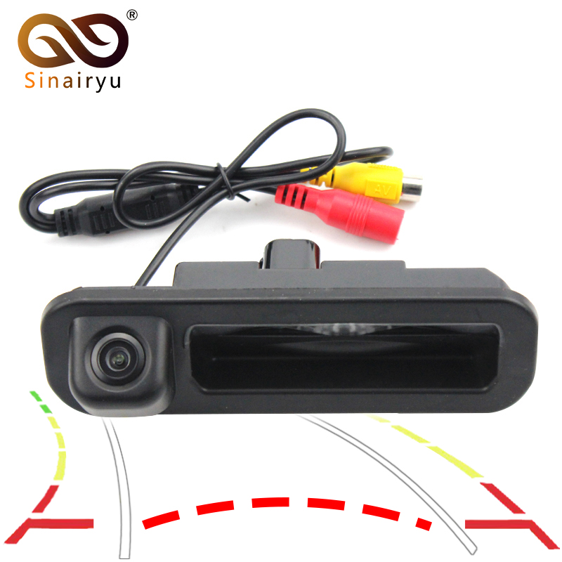 Reversing Trajectory Tracks Special CCD Car Rear View Camera For Ford Focus 2012 2013 For Focus 2 Focus 3 Trunk Handle Camera велосипед focus raven 2 0 20 g 2013