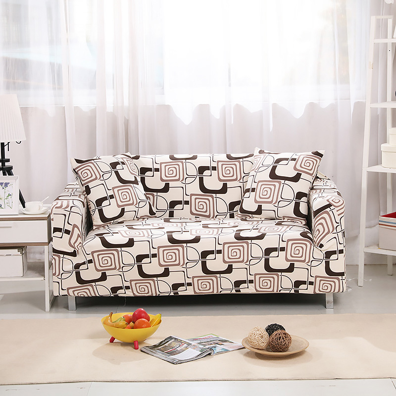 Up To 3 Seats Stretchable Sofa Cover 22