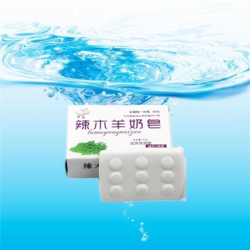 Soap 40g/Pcs Pure Goats' Milk Handmade Soap For Acne Treatment Whitening Soap Dispelling Wrinkles Bath Soap Cold Process Soap
