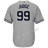 Custom New York Aaron Judge Quick Dry Flexible Short Tshirts Sport Baseball Jersey Shirt for Men Wholesale Cheap Jerseys