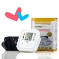 2015 Hot Sale Digital Automatic Upper Arm Blood Pressure Monitor With Adaptor Health Monitors Sphygmomanometer Meter Tonometer