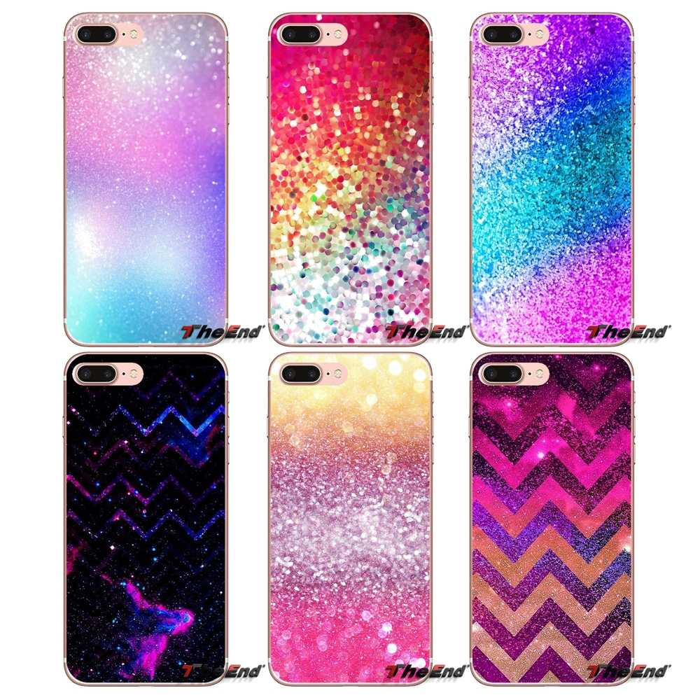 Untuk Samsung Galaxy S2 S3 S4 S5 Mini S6 S7 Edge S8 S9 Plus Note 2 3 4 5 8 coque Fundas Sparkle Glitter Diamond Crystal Soft Case