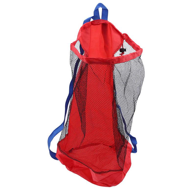 Портативные Детские сетчатые сумки для хранения на море, детские пляжные игрушки для песка, Сетчатая Сумка, водные развлечения, спортивная одежда для ванной, полотенца, рюкзаки