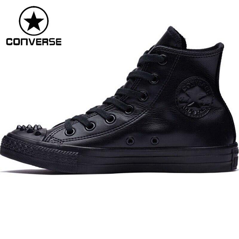Nouveauté originale Converse chaussures de skate haut femme baskets toile