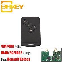 Bhkey 4b pcf7952 чип умный пульт дистанционного ключа брелок