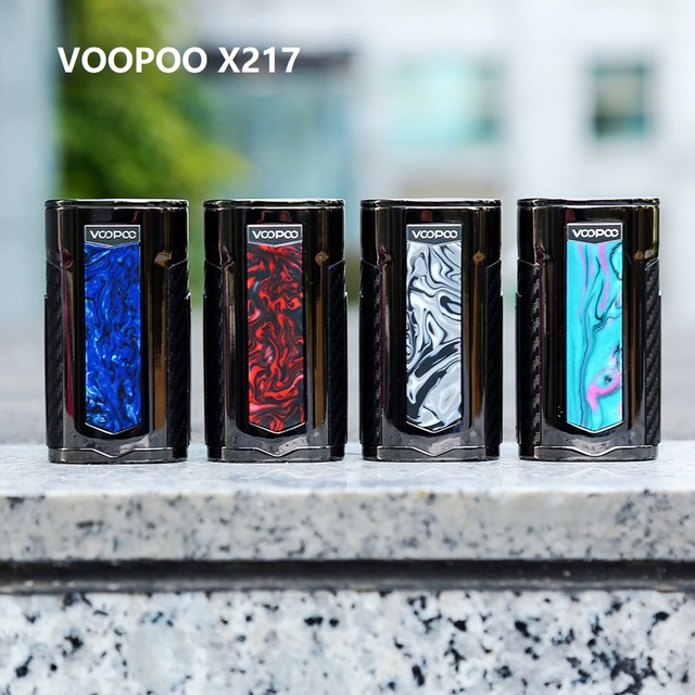 New Original VOOPOO X217 TC Box Mod 217W Electronic Cigarette Vape GENE.FAN Chip TFT IPS HD Screen VS Drag 2/ Shogun/ Luxe Mod