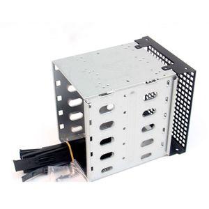 Image 3 - Yeni büyük kapasiteli paslanmaz çelik HDD sabit Disk kafes raf SAS SATA sabit Disk tepsi Caddy bilgisayar aksesuarları için qiang