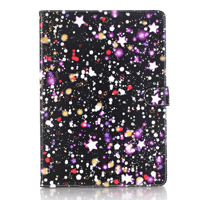 Colorful Star Protective Shell with Stand For iPad Air 2 A1566 A1567