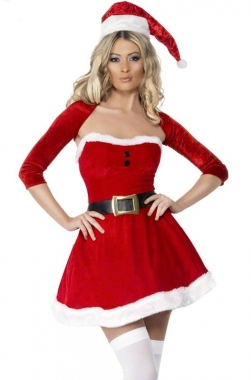 Popular Santa Outfit for Girls-Buy Cheap Santa Outfit for Girls ...