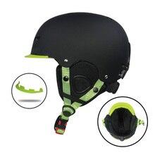 3fe9827dcf428 Naturehike Snowboard Ski Capacete Integralmente-moldado Respirável Capacete  de Segurança Homens Mulheres Skate Esqui Capacete