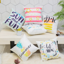 Modern printed letter pillowcase Car cushion ins wind cushion office sofa bedroom cute pillow Home decoration 45x45cm цена