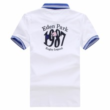 New Arrived Eden Summer Short polo for Men France Park Nice Big Size M L XL XXL XXXL