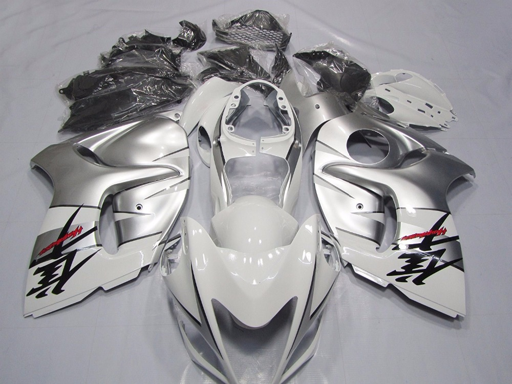 Motorcycle Bodywork Fairing Set Kit For Suzuki GSXR1300 GSX-R GSXR 1300 HAYABUSA 2008 2009 2010 2011 2012 2013 Injection Mold chrome spike full fairing bolt kit nut screw for suzuki gsx r1300 hayabusa 2008 2009 2010 2011 2012 2013 2014