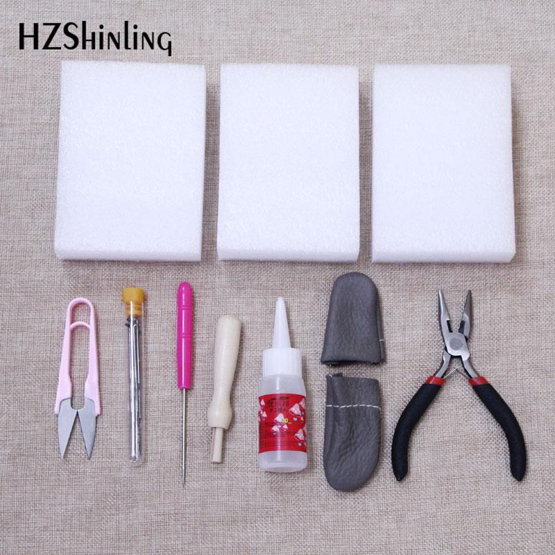 17 Pcs/set Needle Felting Tools Felt Kit With Needle Craft Kit Mat Awl Wool Felting Accessories Tools Felting Craft Handmade