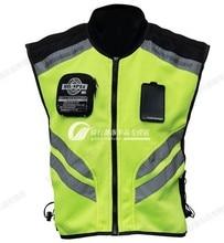Free shipping motorcycle riding vest vest reflective safety clothing uniforms travel uniform fluorescent waistcoat
