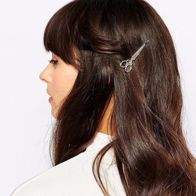 HTB1JFWRLVXXXXbbXFXXq6xXFXXXn Hip Women Scissors/Branches Fashion Clip For Hair - 2 Colors