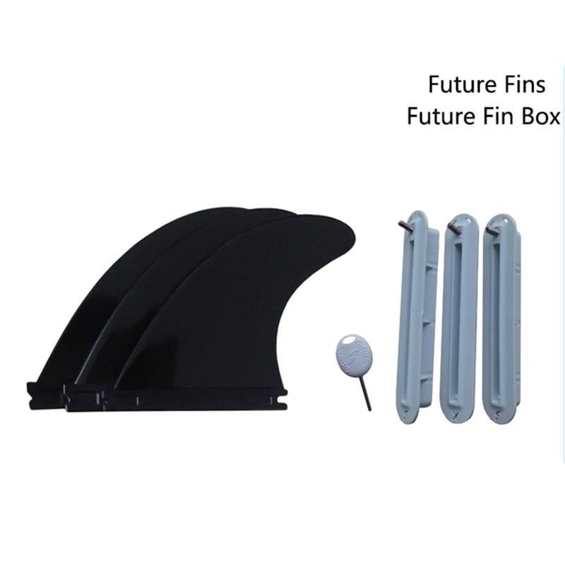 सुपर फ्यूचर प्लास्टिक जी 5 फिन्स और फ्यूचर फ्यूजन फिन प्लगर्स सुपर बोर्ड फिन्स