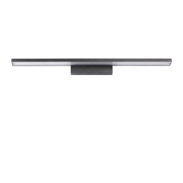 Mm Quality Aluminum Washbasin Mirror Light V W Led - Black bathroom wall sconces