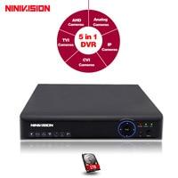 Hot AHD NH DVR 8Channel CCTV AHD DVR AHD NH Hybrid DVR Video Recorder For AHD