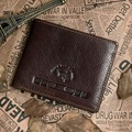Low Price High Quality Fashiona Real Leather Wallets Holder Coin Purse For Men 20PCS/LOT 8016-3C