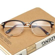 9e379ddf38 JOSEJINN Vintage Half Frame Semi-Rimless Horn Rimmed Style Classic Optical  Glasses