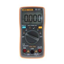 1 Pieces New ANENG AN8001  Orange Digital Multimeter 6000 Counts Backlight AC/DC Ammeter Voltmeter Ohm Portable Meter T10