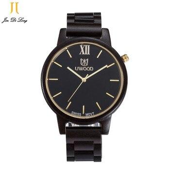 Watch Men Wood Watch Ultra-thin Waterproof Japan Quartz Watch Casual Business Men Watch Wooden Bracelet Male Clock Relogio