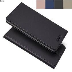 Matowy portfel etui z klapką etui na telefon Nokia 6 5 3 magnetyczny futerał na telefon styl biznesowy