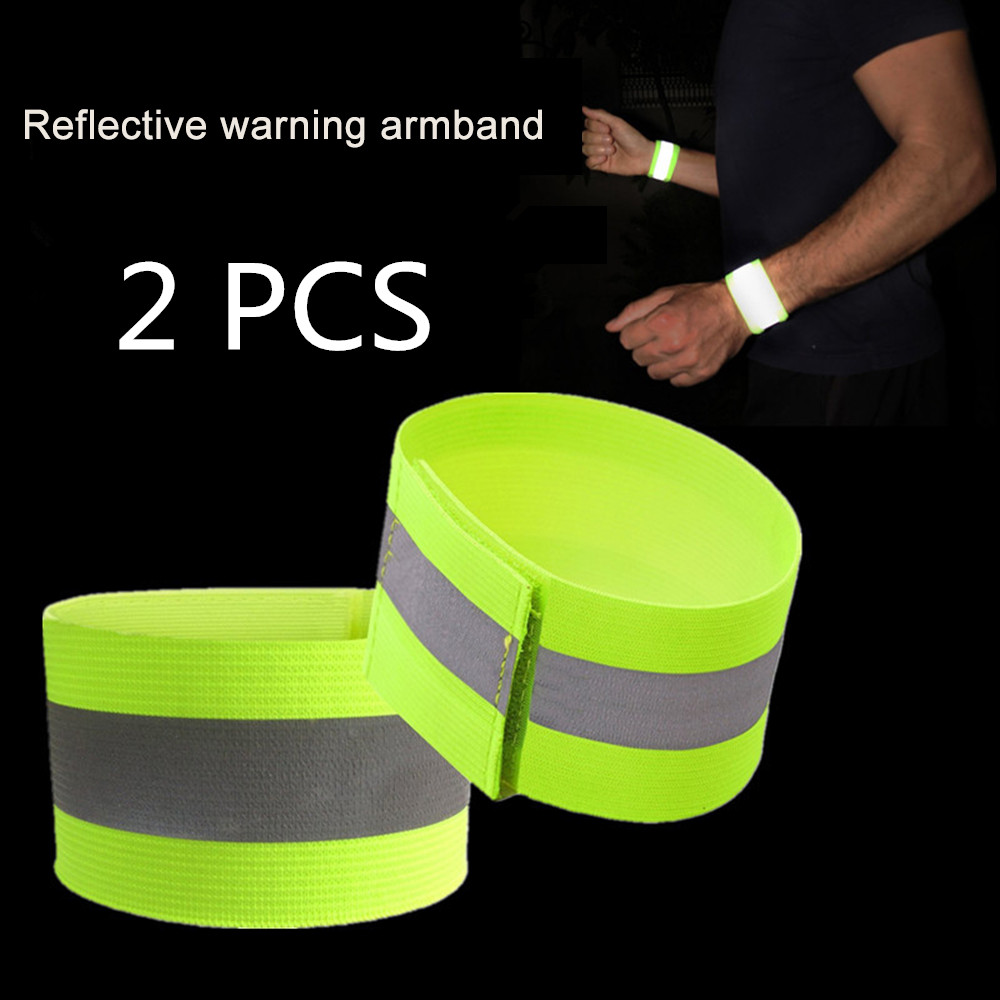 Outdoor Sports Warning Wristband Night Running Light Safety Jogging Led Arm Leg Cycling Bike Bicycle Reflector Luces Bicicleta
