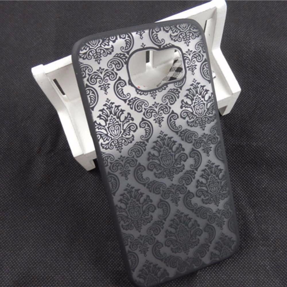Hot Sale Luxury Slim Flip PC Hard Case Cover Skin For Phone Samsung Galaxy S6 Black