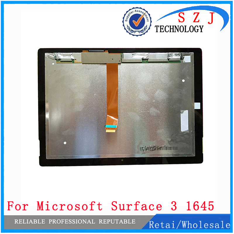 New 10.8'' inch For Microsoft Surface 3 1645 lcd display touch screen digitizer Assembly panel generation LCD Complete for microsoft surface pro 4 assembly lcd displays screen touch screen