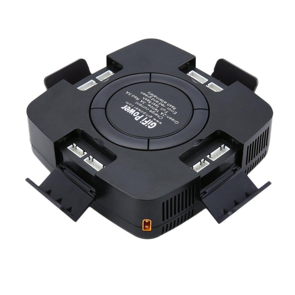 Pour YUNEEC H480 Typhoon H batterie télécommande 4 en 1 Lipo chargeur 70 W 6Ax2 LiHV chargeur de batterie avec USB sûr Charge rapide