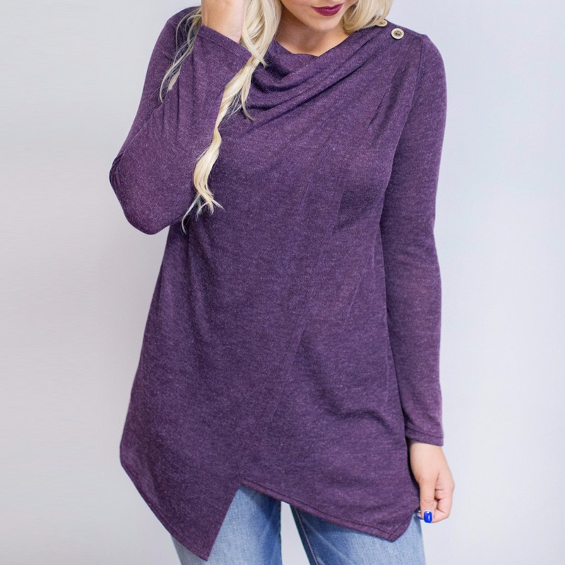 HTB1JFXvOpXXXXa1aXXXq6xXFXXXH - Women Cardigan Long Sleeve O Neck Casual Loose Blouses
