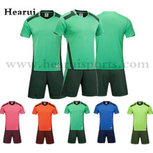 2016 2017 New Men's Soccer Jerseys Blank Training Sets Soccer Uniform Plain Football Suits Customize Logo Name For Adult