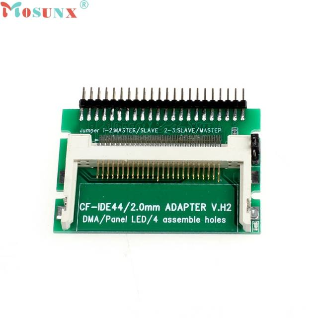 Mosunx SimpleStone CF To 44 Pin Male IDE Adapter PCB Converter As 2 5 IHDD  Drive For Laptop 60316