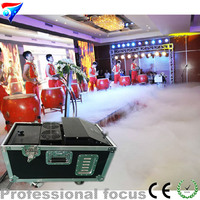 Free Shipping 4pcs/lot 3000w Water Based Low Ground Low Noise Fog Machine