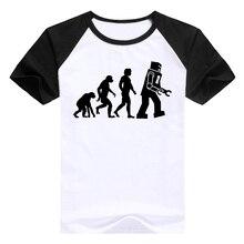 Robot Evolution baseball jersey / t-shirt