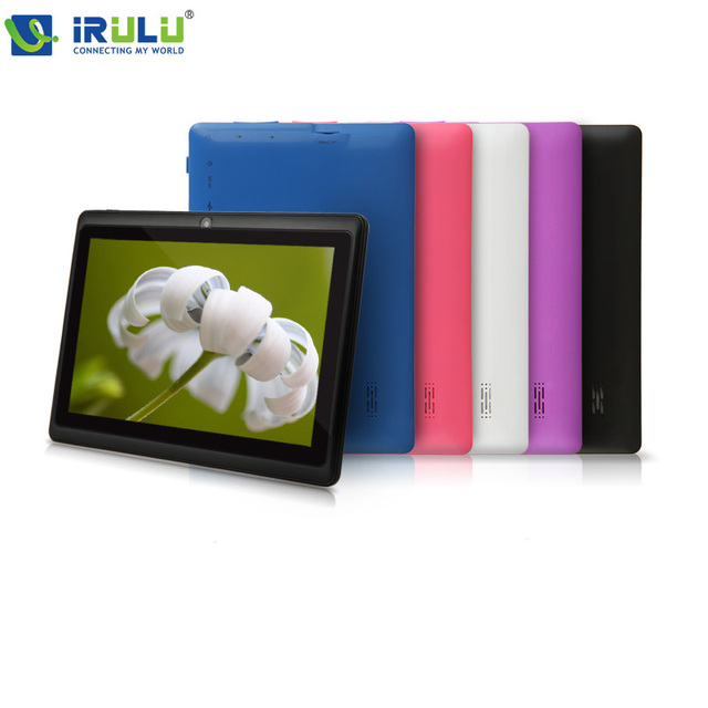 """iRULU eXpro 1 X1 7"""" Tablet PC 8GB ROM Quad Core Android 4.4 Tablet Dual Camera  USB OTG WIFI Tablet  2016 New Hot"""