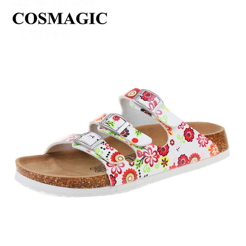 05c946df7c4c New Summer Buckle Cork Slipper Beach Sandals for Women ...