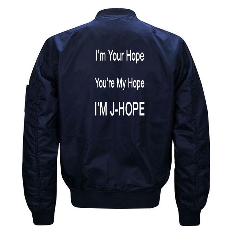 Kawaii Kpop BTS JHope Fans Bomber Jacket for Women and Men Cute Girls Korean Band Bangtan Boys J Hope Jackets Oversized S-5XL 3