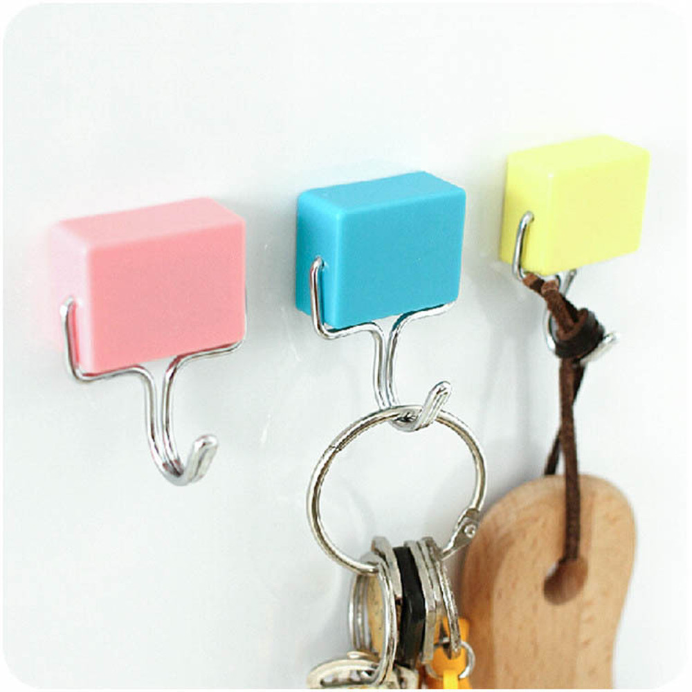 2018 Creative Tools Magnetic Hooks School Locker Hook
