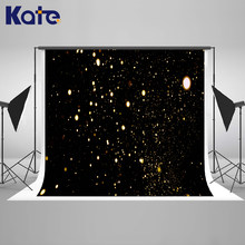 Kate 10x10ft Black Bokeh Wedding Photography Backdrop Highlights Baby Fondali Fotografia Princess Happy Birthday Backdrops(China)