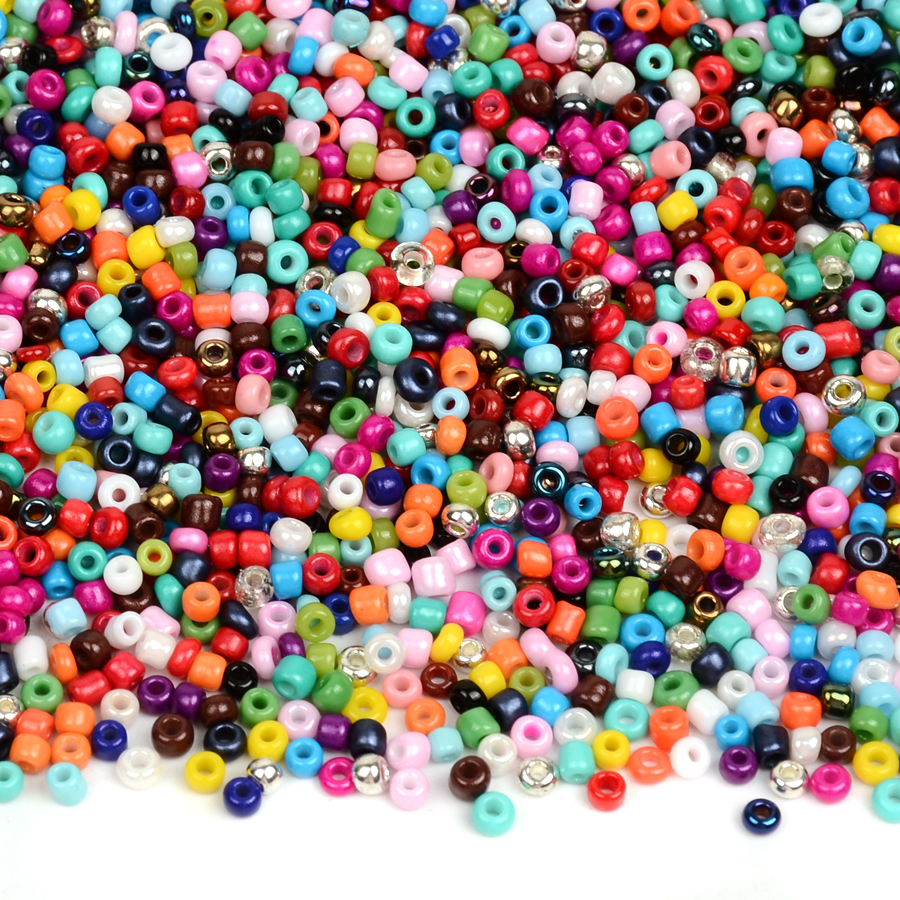 2MM Colorful Miyuki Beads For Jewelry Making Czech Glass Beads Charms Silver SeedBeads Kralen Rondelle Bead Spacers DIY Bijoux