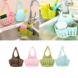 Portable Basket Home Kitchen Hanging Drain Basket Bag Bath Storage Tools Sink Holder Kitchen Accessory 10