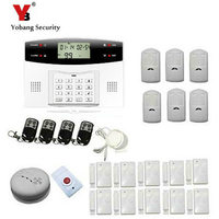Yobang Security Wireless wired Home Security GSM Alarm System with PIR montion Alarm Home Alarm with PIR detector