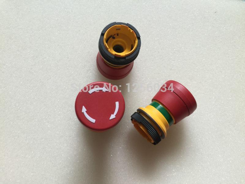 5 pieces heidelberg printing press parts CD102 SM74 SM52 emergency stop switch for printing machine A1.144.9129 original