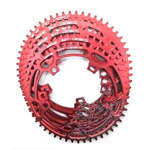 Image 3 - DECKAS مستديرة 130BCD 50 T/52 T/54 T/56 T/58 T الدراجات سلسلة الدراجة دراجة سلسلة دراجة كرانكبيت لوحة BCD 130 مللي متر الأسنان لوحة شحن مجاني